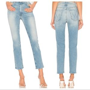 Mother The Dazzler Ankle Jeans In Ready To Roll